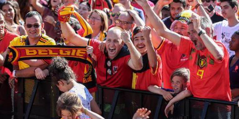 Brussel huldigt Belgische selectie na brons