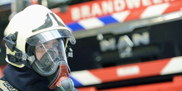 Brandweer redt persoon uit huis Vaassen