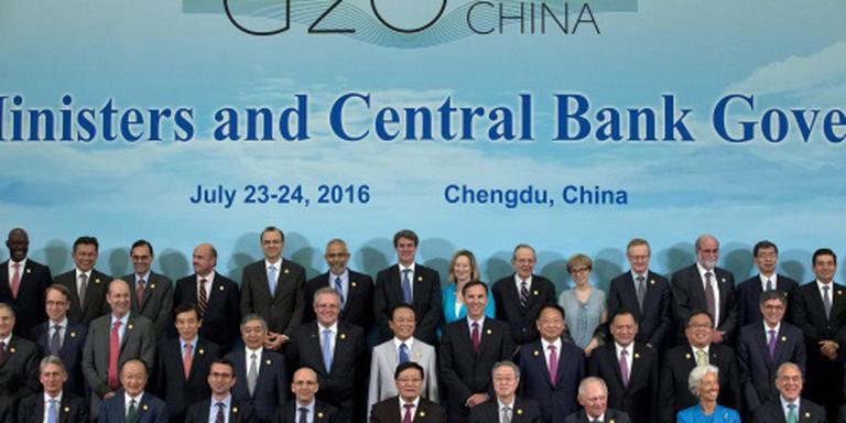 G20 zet alle middelen in voor sterkere groei