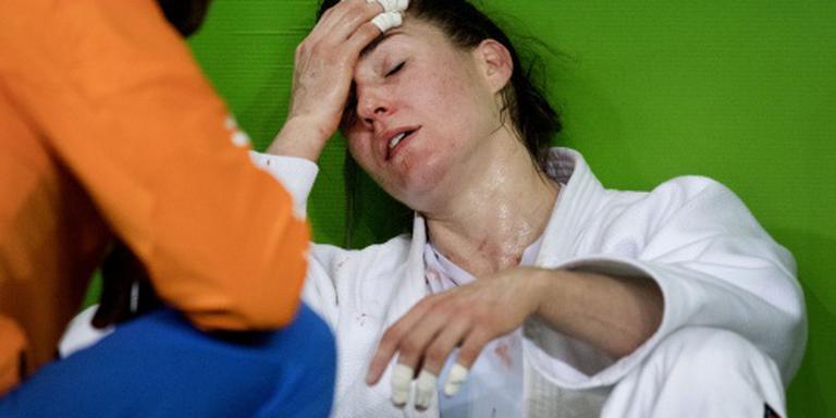 Judoka Verkerk verliest marathonpartij