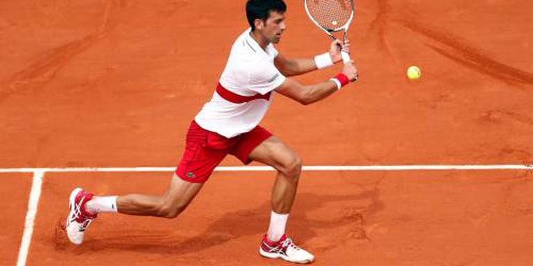 Djokovic zonder grote problemen door