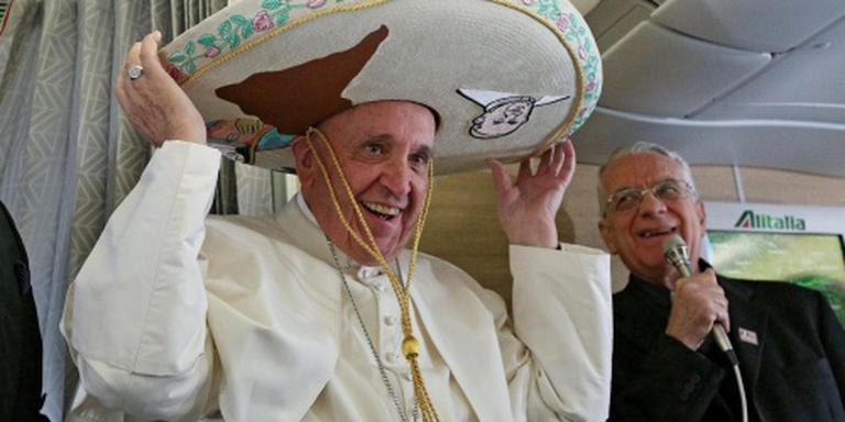 Paus begint meerdaags bezoek aan Mexico