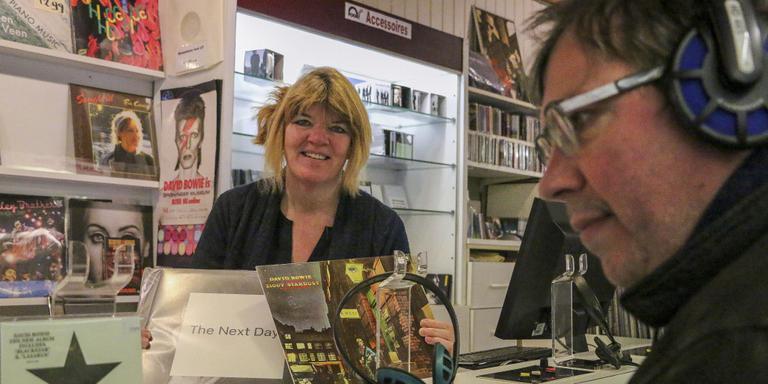 Sophie Wilkes, eigenaar van Poortmusic. FOTO LC/ARODI BUITENWERF