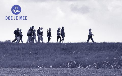 Kom in beweging met de onzichtbare Elfstedentocht: in zestien weken 283 kilometer wandelen