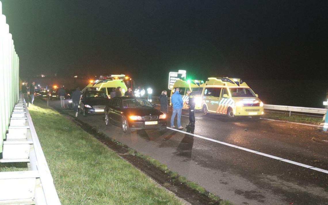 Automobilist uit Leeuwarden overleden na ernstig ongeval A32.