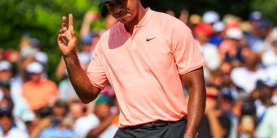 Woods aan kop bij Tour Championship