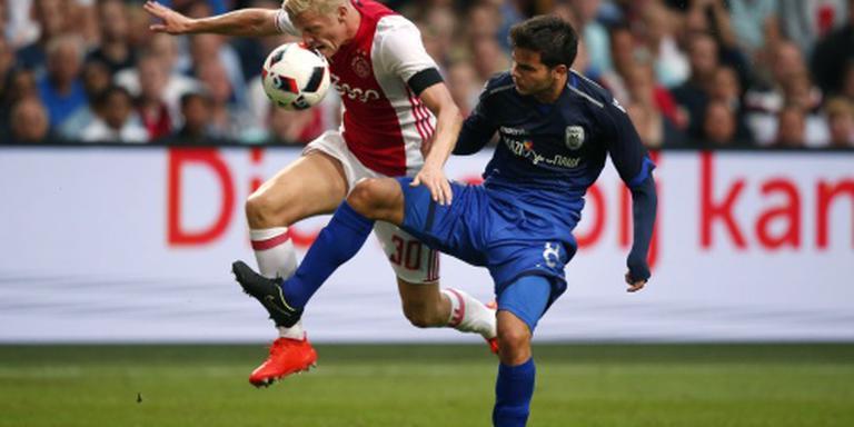 Champions League ver weg voor Ajax