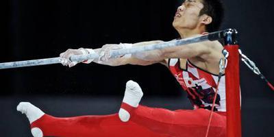 Japanse turner Miyachi 'gunt' Zonderland olympisch ticket