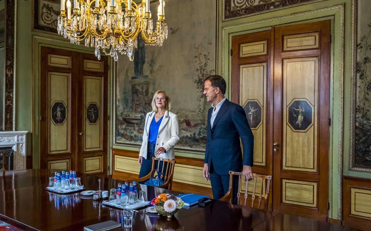 VVD gaat nog niet in op sneer van D66-leider Kaag