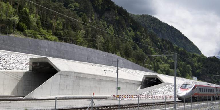 Nieuwe Gotthardtunnel officieel geopend