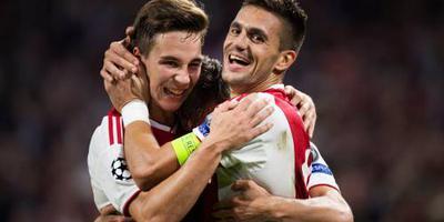 Tadic geniet heel even en denkt al aan PSV