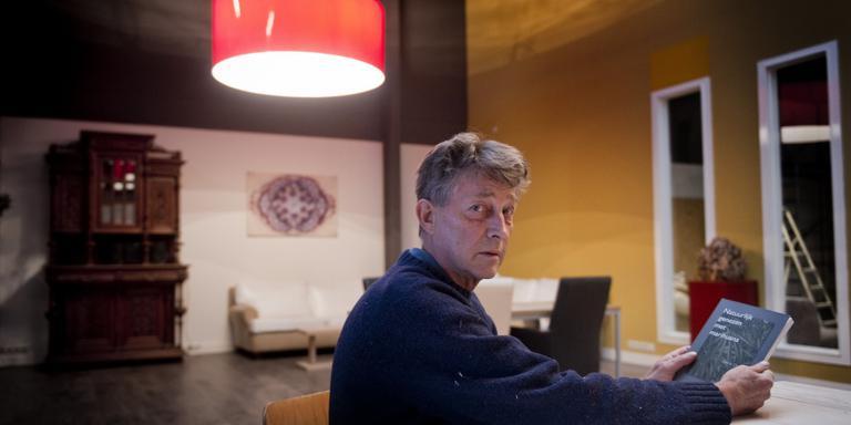 Johan Meines van Social Club Friesland: ,,We leveren wietolie op donatiebasis''. FOTO HOGE NOORDEN/JACOB VAN ESSEN.