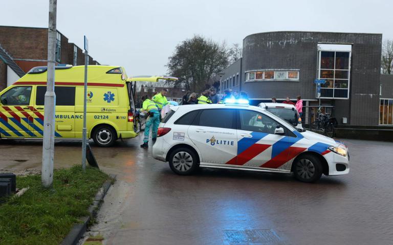 Scootmobielrijder gewond bij aanrijding in Drachten.