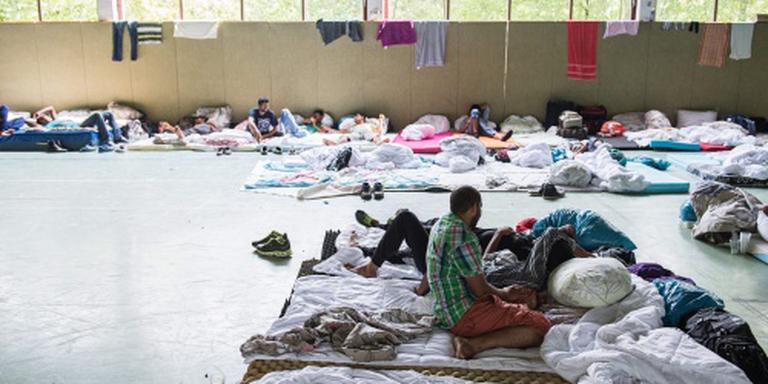 Massale vechtpartij Duitse asielzoekers