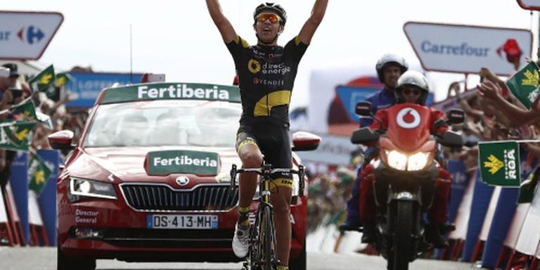Ritzege voor debutant Calmejane in Vuelta