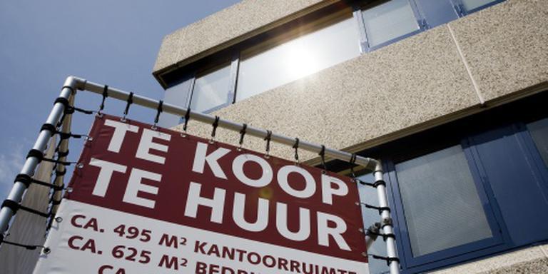 Leegstaande kantoren steeds vaker omgebouwd. FOTO ANP