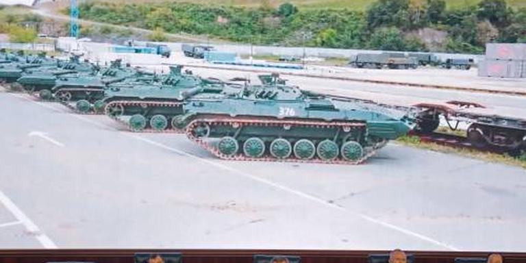 Russisch leger begint met mega-oefening