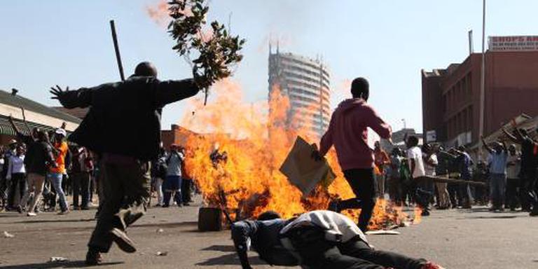 Leger patrouilleert in hoofdstad Zimbabwe