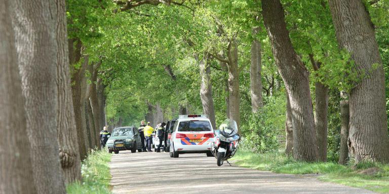 Er is een grote zoekactie gestart naar de ontsnapte tijgers. FOTO DE VRIES MEDIA