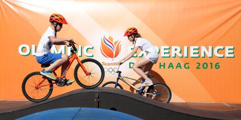 Drukte bij olympisch sportfestijn Den Haag