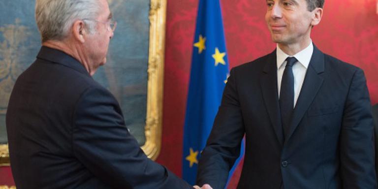 Christian Kern bondskanselier van Oostenrijk