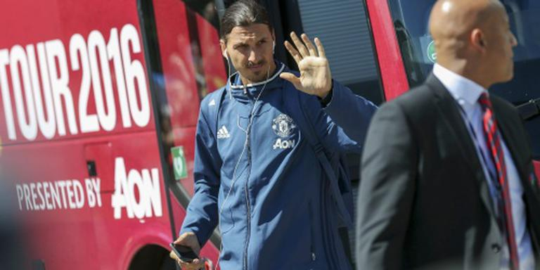 Ibrahimovic debuteert voor United