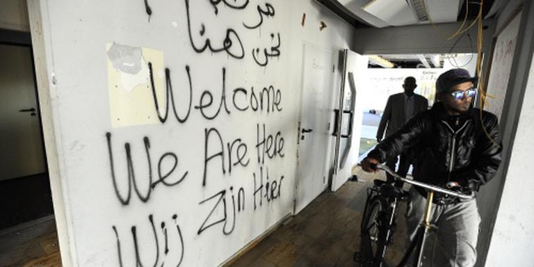 Asielzoekers Amsterdam naar 16e pand