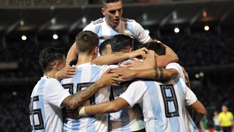 Argentinië verslaat Mexico