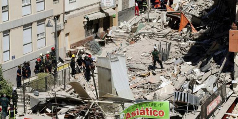 Zes doden ingestorte flat Tenerife