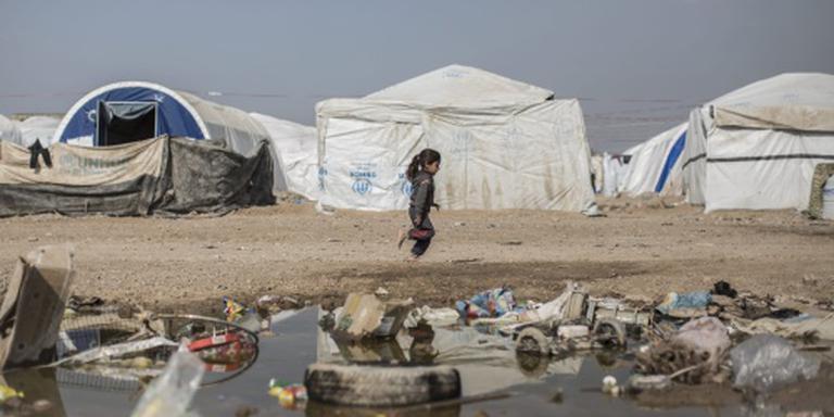 Vluchtelingen Fallujah verdronken in Eufraat