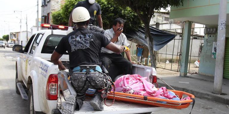 Meer dan vijfhonderd doden door ramp Ecuador