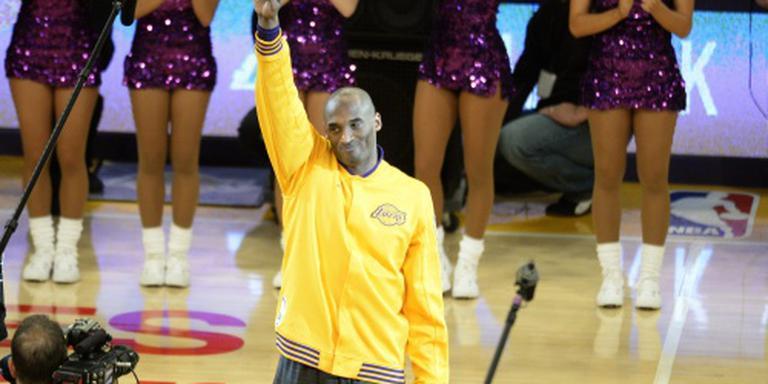 Sterren bij afscheid van idool Kobe Bryant