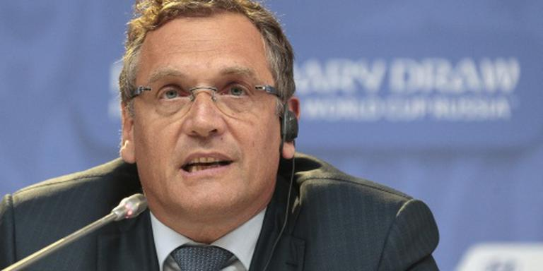 FIFA ontslaat secretaris-generaal Valcke