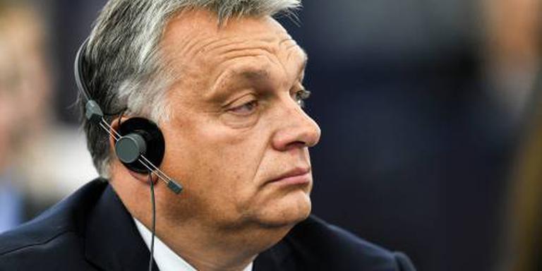 Orban krijgt wind van voren in EU-parlement