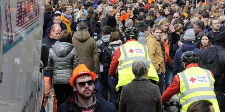 Rode Kruis: Koningsdag rustig en beheersbaar