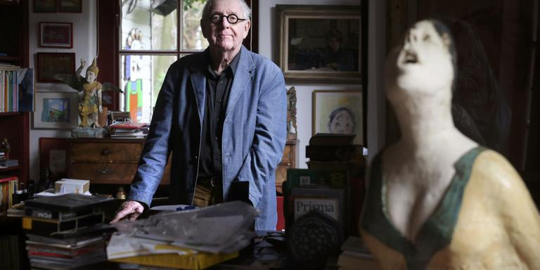 Dolf Verroen (87) auteur Kinderboekenweek