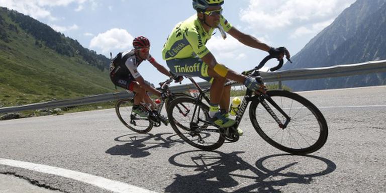 Contador wint Vuelta Burgos