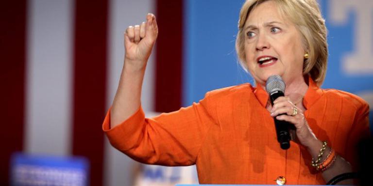Clinton loopt verder uit op Trump