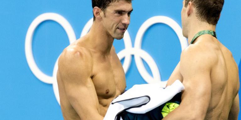 Phelps sluit af met 23e gouden plak