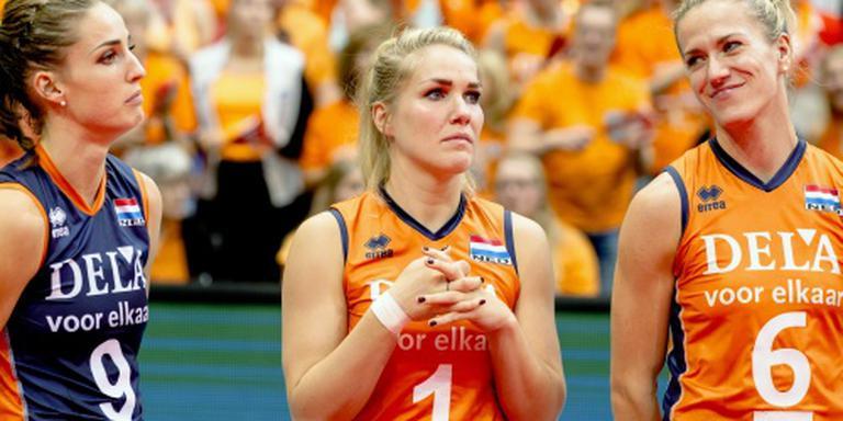 Geen Rio voor volleybalsters Knip en Koolhaas