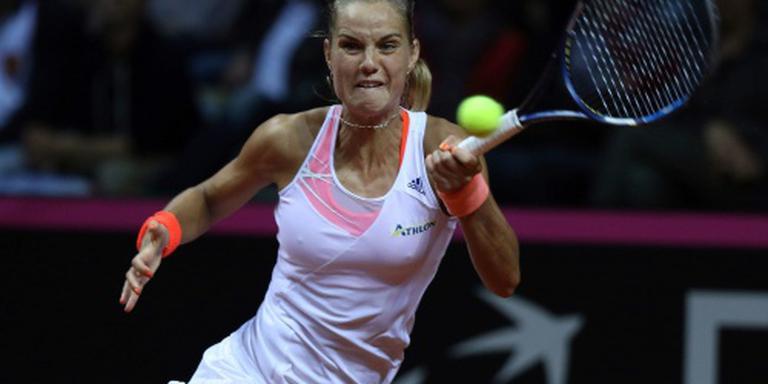 Tennisster Rus strandt weer in halve finale