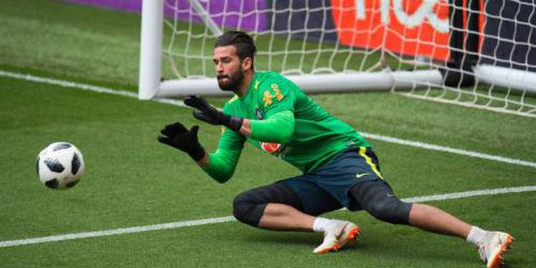 Liverpool en AS Roma akkoord over Alisson