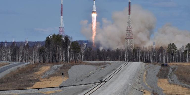 Russische ruimtehaven nu echt in gebruik