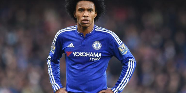 Willian blijft Chelsea trouw