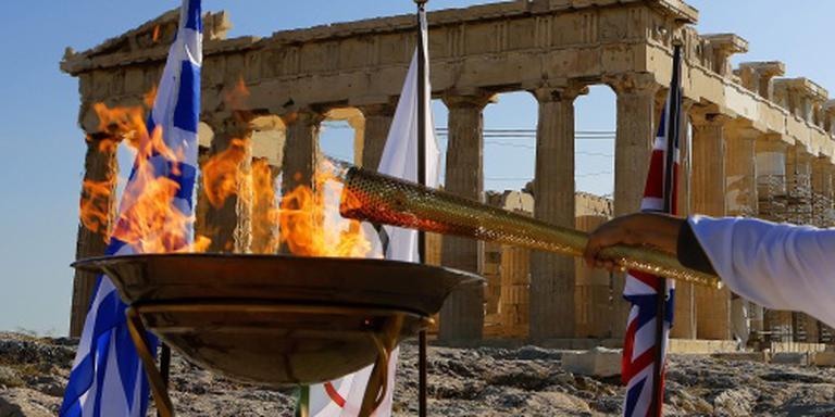 Vluchteling mag olympische vlam dragen