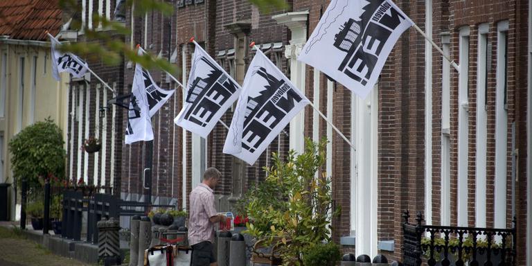 Bijna was de 'Reststoffen-EnergieCentrale' (REC) van Omrin in Oudehaske gebouwd in plaats van Harlingen. Omwonenden gingen echter de strijd aan en de gemeente luisterde naar hen. FOTO WIETZE LANDMAN
