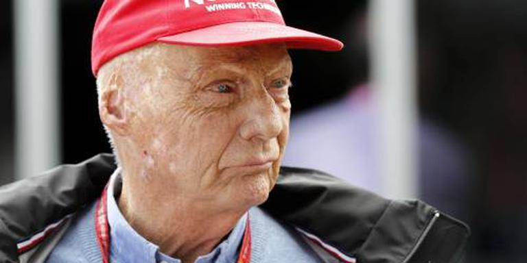 Arts positief over genezing Lauda