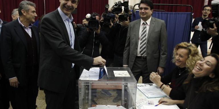 'Griekse conservatieven hebben nieuwe leider'
