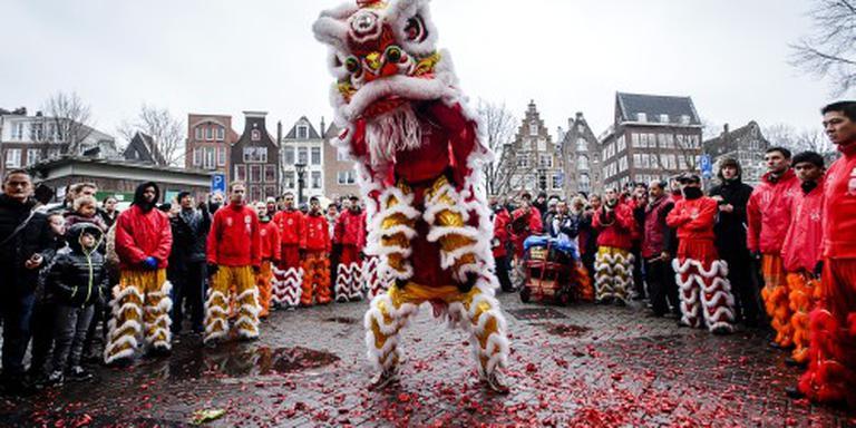Vuurwerkshow Chinees Nieuwjaar geschrapt