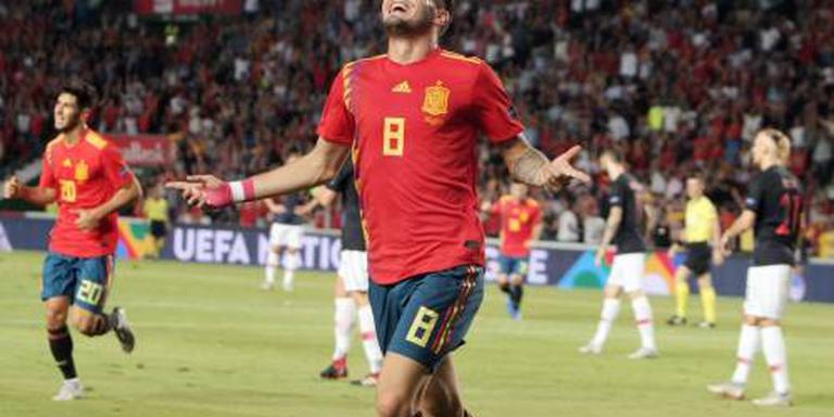 Spanje vernedert vice-wereldkampioen